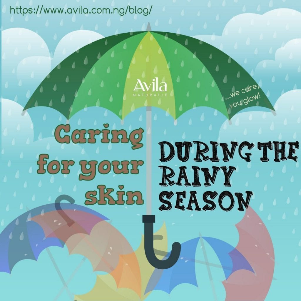 Caring for your skin during the rainy season