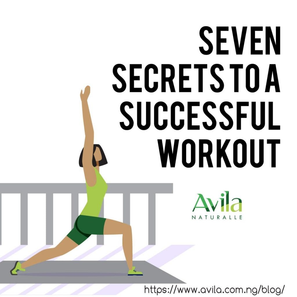 Seven secrets to a successful workout