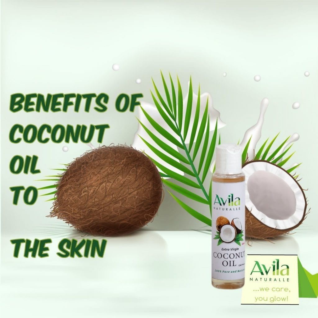 Benefits of coconut oil to the skin