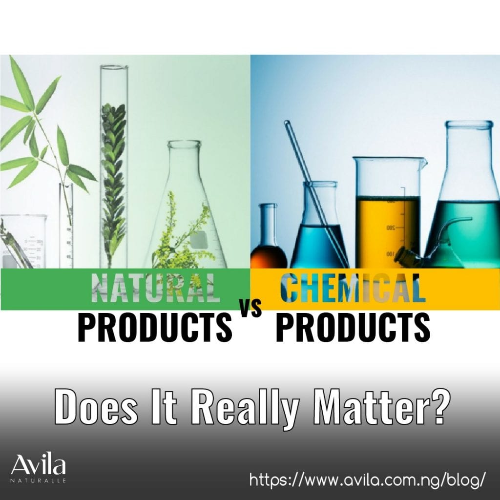 Natural products vs chemical products; Does it really matter?