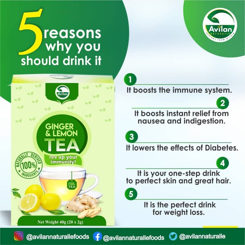 five reason why you should drink ginger and lemon tea